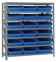 Blue 1239-109 Steel Shelving Units