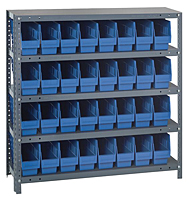 Blue 1239-201 Steel Shelving Systems
