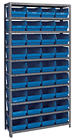 Blue 1275-207 Steel Shelving Systems