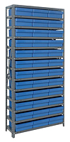 Blue 1275-801 Open Steel Shelving Systems