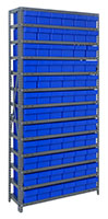 Blue 1875-602 Open Steel Shelving Systems
