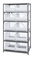 Clear 2475-954CL Steel Shelving Systems