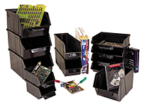 Stack and Lock Conductive Bins