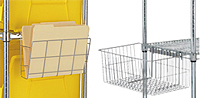 Document Holder & Utility Basket