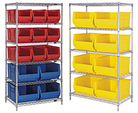 30 in. & 36 in. Wire Shelving Systems