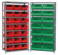 Steel Shelving Units