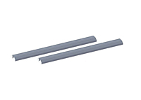 Quantum High Density Sliding Top Track System Shelving Rail Kits