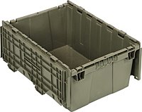 Gray QDC2115-9 Attached Top Containers (QDC Series)
