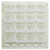 Clear QLP-1819BG-220-16CL Louvered Panels