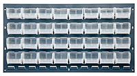 Clear QLP-3619-220-32CL Louvered Panels