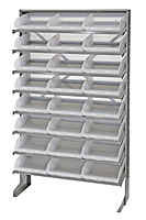 Clear QPRS-109CL Single Sided Pick Racks