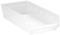 Clear QSB108CL Bins