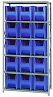 Blue QSBU-600 Steel Storage Centers