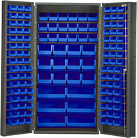 Blue Bins for QSC-36 36 in. Wide All Purpose Cabinets