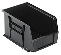 Black QUS221BR Ultra Stack and Hang Bins