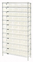 Clear WR12-107CL Wire Shelving Systems