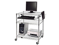 Portable Computer / LAN Work Center Cart