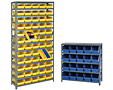 Economy Shelf Bin Systems, Small Parts Storage